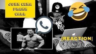 John Cena Prank Call| REACTION|