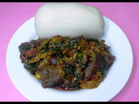 My Efo Riro Soup/Stew - Video