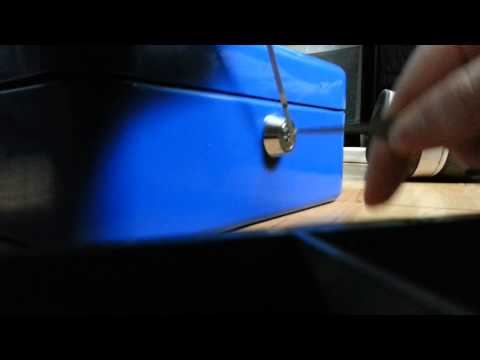 Pick Locking A Cash Box