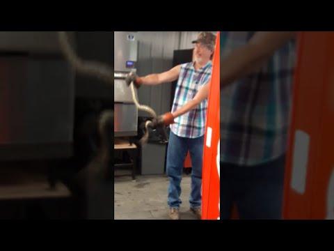 Snake in Vending Machine || ViralHog