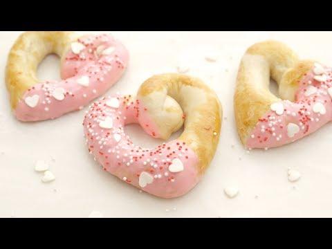 Heart-Shaped Pretzels | Domino® Sugar