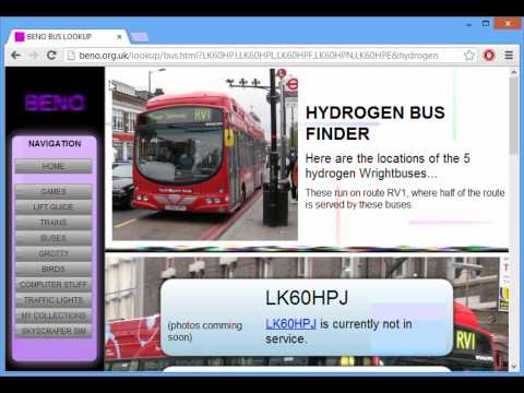 FIND THE CURRENT LOCATION OF A LONDON BUS!