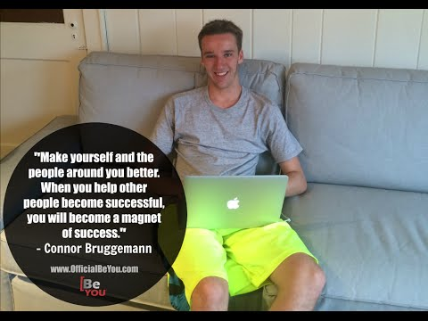 How An 18 Year Old Made Over $300,000 Trading Penny Stocks | Connor Bruggemann
