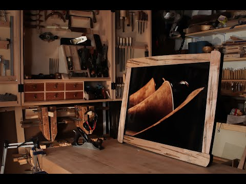 Not your Usual Picture Frame - Building Process by Ben Prowell