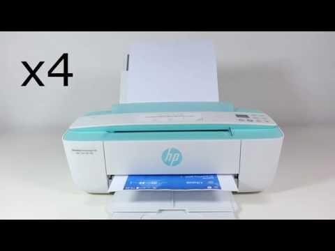 HP DeskJet 3700 hands on