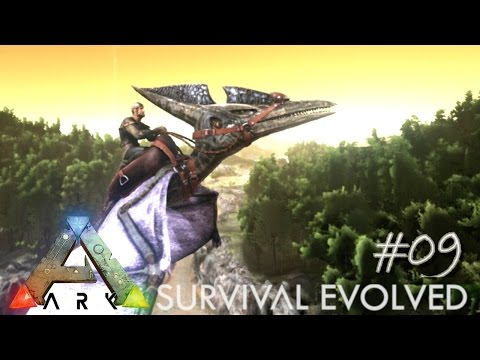 ARK: Survival Evolved - KING OF THE SKY - FLYING DINOS !!! - [Ep 09] (Server Gameplay)