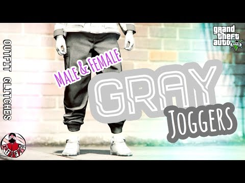 *PATCHED* GTA5 | Outfit Glitches: Gray Joggers & Utility Vest (Female & Male)