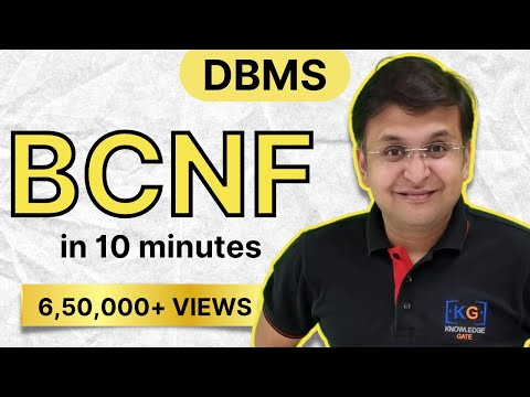 part-12 | BCNF in DBMS in HINDI with example | boyce codd normal form  NORMALIZATION identify
