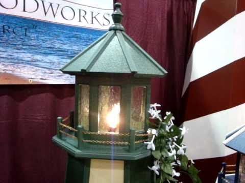 DutchCrafters Amish Made Polywood Outdoor Lighthouse