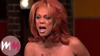 Top 10 Tyra Banks Moments on America's Next Top Model