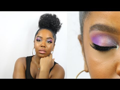 Fenty Beauty Galaxy Collection| Makeup for Dark Skin | Melissa Denise