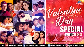 Valentine's Day Special | Best Bollywood Romantic Movie Scenes | Video Jukebox