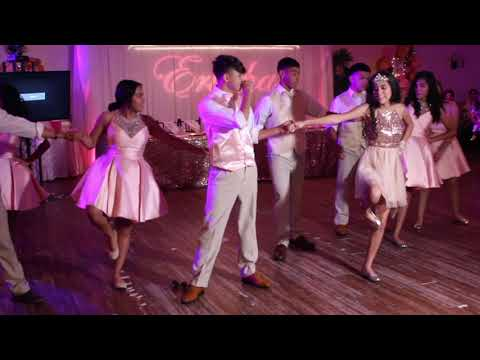 Cumbia Merengue Bachata and Zapateado Quince Dance!!!