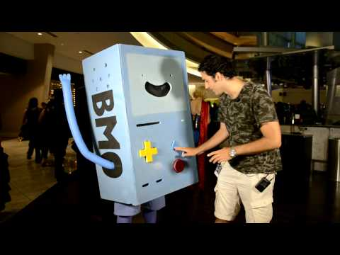 Dragon Con 2013 Interviews: BMO (Adventure Time)