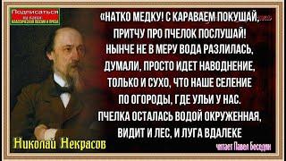 Пчёлы— Николай Некрасов —  читает Павел Беседин