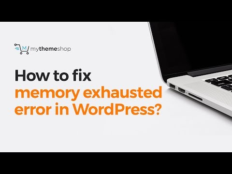 How to fix WordPress memory exhausted error by increasing PHP memory limit?