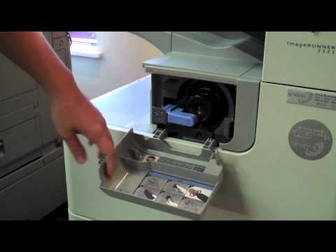 How to Replace Toner in a Canon B&W ImageRUNNER Copier