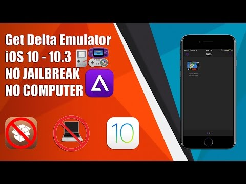 NEW! Get DELTA Emulator on iOS 9/10 - 10.3 NO JAILBREAK NO COMPUTER