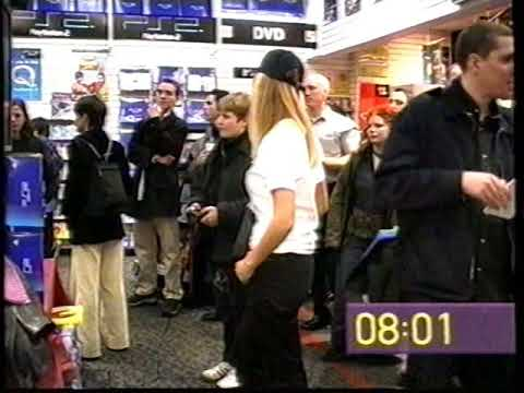 PlayStation 2 Launch Day (UK) News Clip 24th Nov 2000