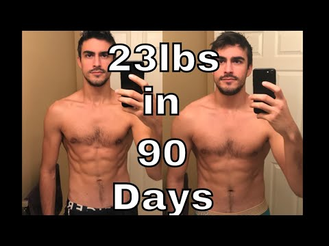 My 90 Day Bulk Results {23lbs/11kg Gained}