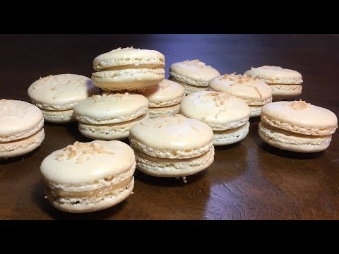 How to Make French Macaron - with Coconut Caramel