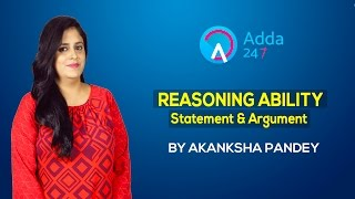 Reasoning Ability: Statement and Argument