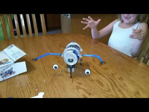 Tin Can Robot from Green Science.