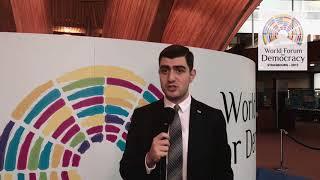 Giorgi Tumasyan: My World Forum For Democracy