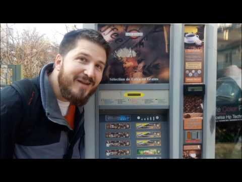 Automated Coffee Machine: Plovdiv, Bulgaria