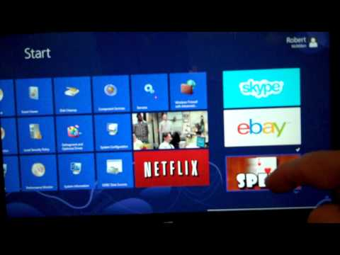 How to uninstall an app in the Microsoft Windows Surface Tablet