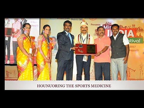 Dr Kannan Pugazhendi honoured by National College - ICRS 2017