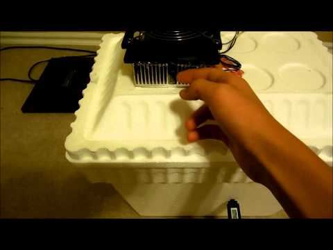 DIY Thermoelectric Peltier Mini Fridge