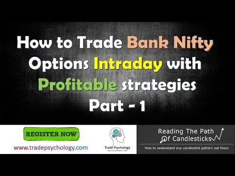 How to trade Bank Nifty options Intraday! Part 1