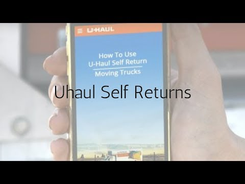 Uhaul Self Pickup & Returns