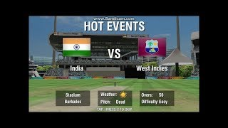 India vs West Indies 5th ODi Full Match Highlights 2017 - WCC2 Gameplay