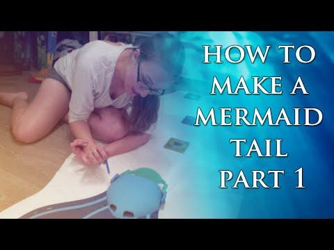 Make a Mermaid Tail Part 1