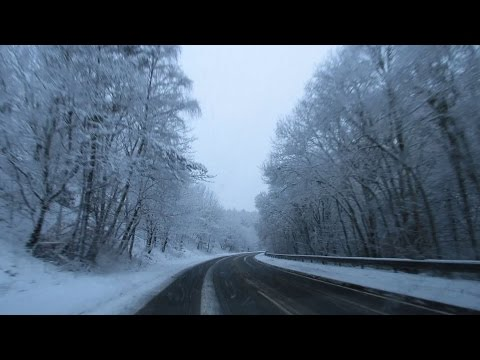 SNOWY ROAD TRIP - Inverness to Fort William! vlog 101
