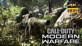 Call of Duty: Modern Warfare 4K HDR Xbox One X Walkthrough Gameplay part #8 Highway Of Death