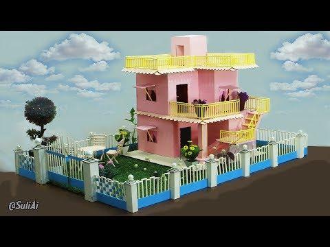 Beautiful Cardboard House - DIY Home Engineering Project