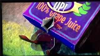 Sausage party juice box