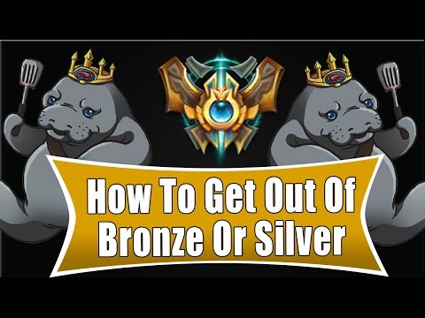 How To Get Out Of Bronze Or Silver - Build Paths (League Of Legends)