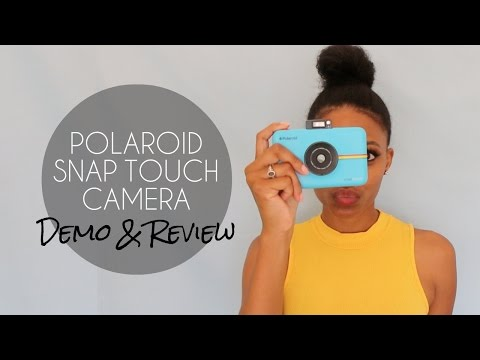 POLAROID SNAP TOUCH CAMERA - PRODUCT DEMO & REVIEW