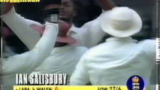 *FAIL* ENGLAND ALL OUT 46........vs WEST INDIES 1994 3RD TEST