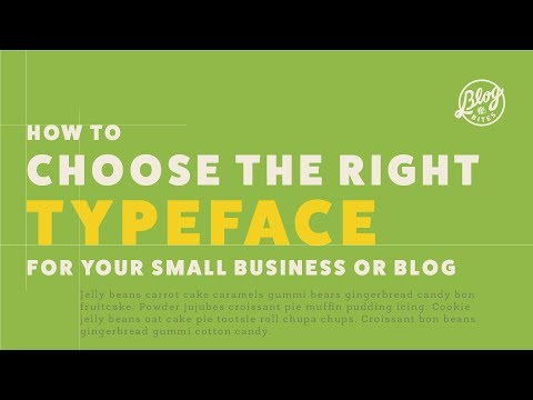 BlogBites   How to Choose the Right Typeface