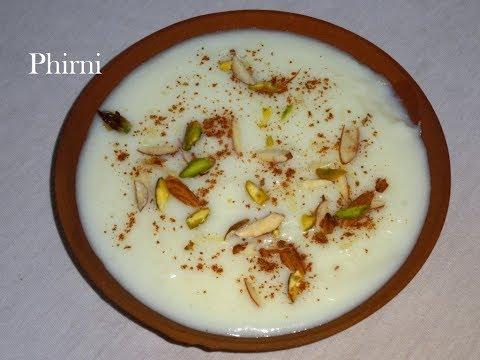 Phirni Recipe/How To Make Phirni With Rice Flour