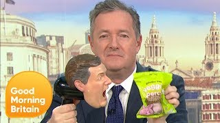 M&S Have Gone Vegan With Their Percy Pig Sweets and Piers Isn't Happy   Good Morning Britain