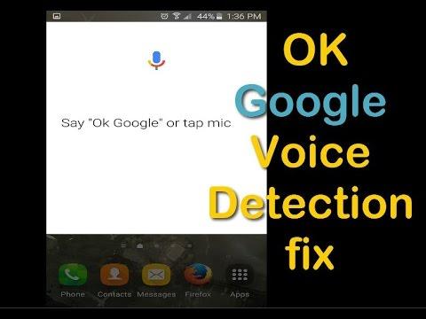OK Google Voice Detection fix