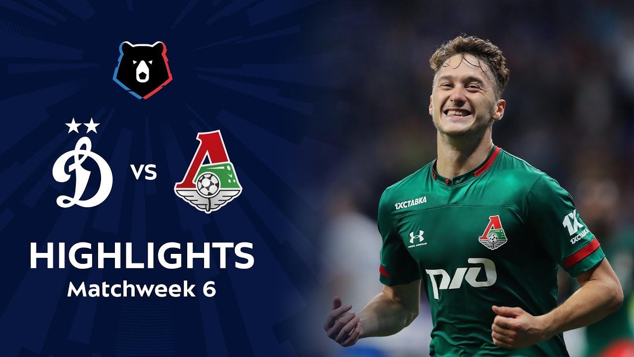 Highlights Dynamo vs Lokomotiv (1-2)   RPL 2019/20