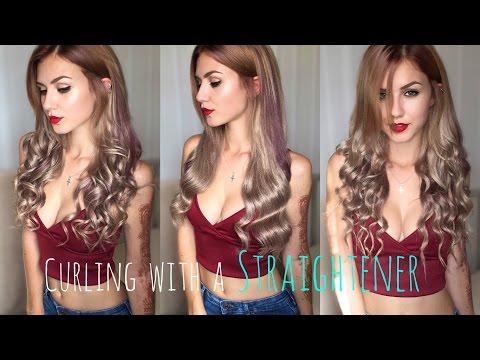1 Straightener, 3 Curl Styles | Diamond Flat Iron | Stella