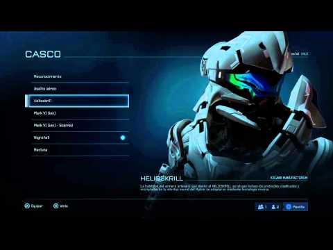 Beta de Halo 5: Guardians: Opciones de personalizacion.